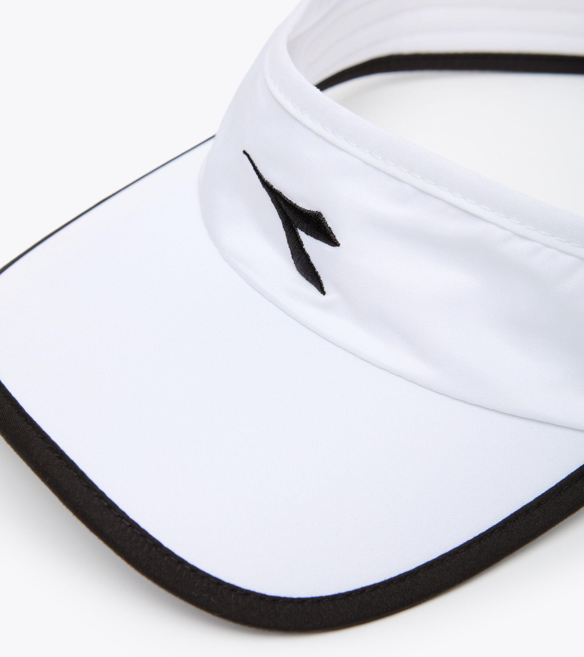 Tennisschirm - Unisex VISOR WEISS/SCHWARZ - Diadora