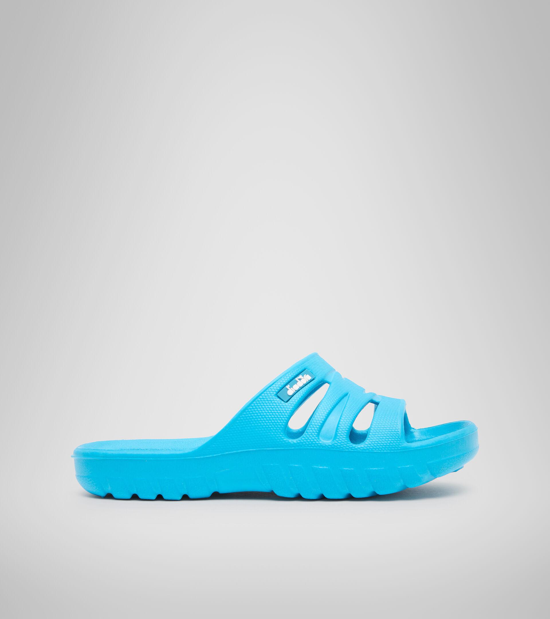 Zapatilla deportiva - Unisex niños AGADIR JR BOX AZUL TURQUESA FLUO - Diadora