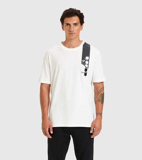 T-shirt - Unisexe T-SHIRT SS ICON BLANCHE - Diadora