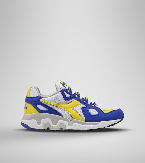 Footwear Sportswear UOMO MYTHOS SUEDE WHT/SODALITE BLUE/GRN SHEEN Diadora