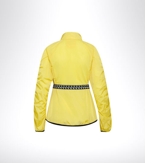 Running windproof jacket - Women L. WINDBREAKER JACKET GOLDFINCH - Diadora