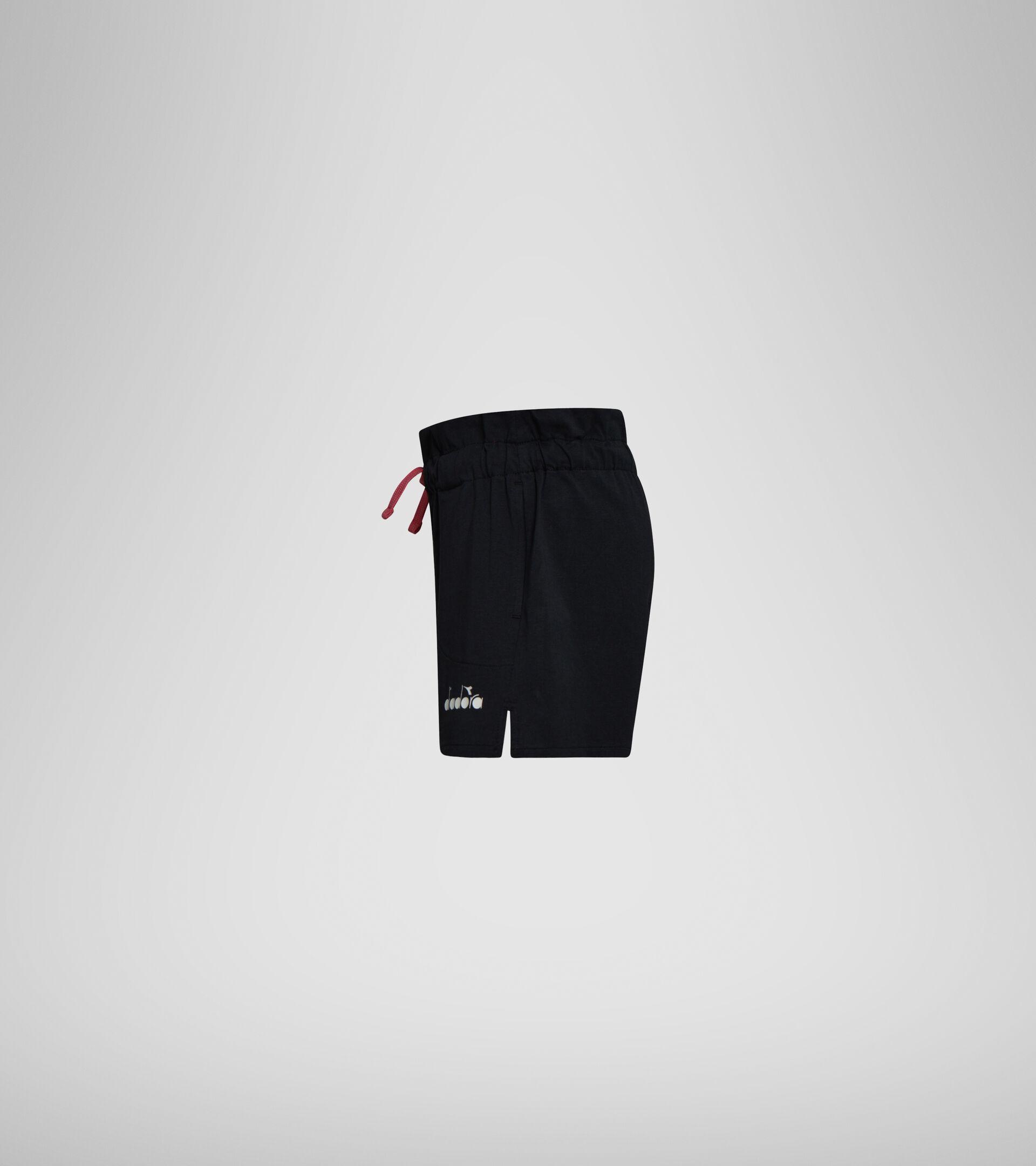 Shorts - Niñas JG. SHORT LOGO MANIA NEGRO - Diadora