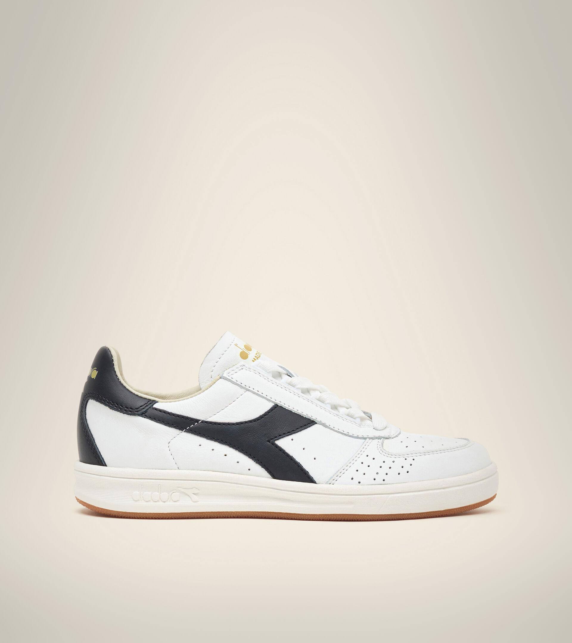Made in Italy Heritage shoe - Unisex B.ELITE H ITALIA SPORT WHITE/BLACK/GOLD - Diadora