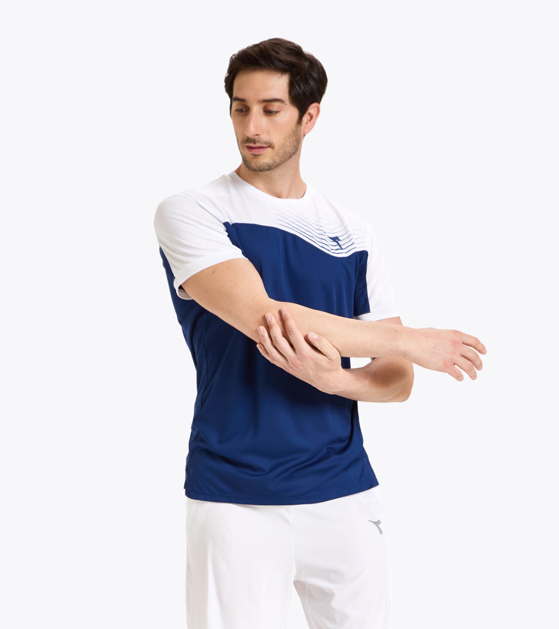 Apparel Sport UOMO T-SHIRT COURT SALTIRE NAVY Diadora