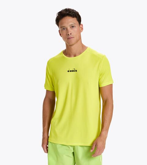 Tennis-T-Shirt - Herren SS T-SHIRT EASY TENNIS SCHWEFELQUELLE - Diadora
