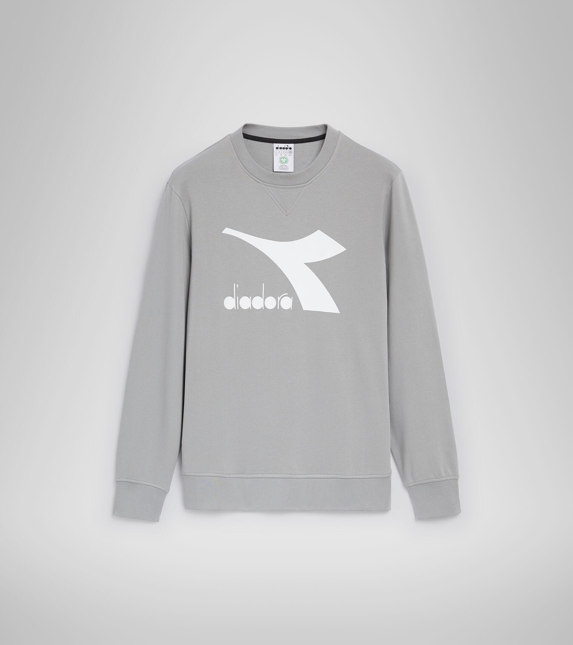 Sweater mit Rundhalsausschnitt - Herren SWEATSHIRT CREW LOGO CHROMIA GREIF - Diadora