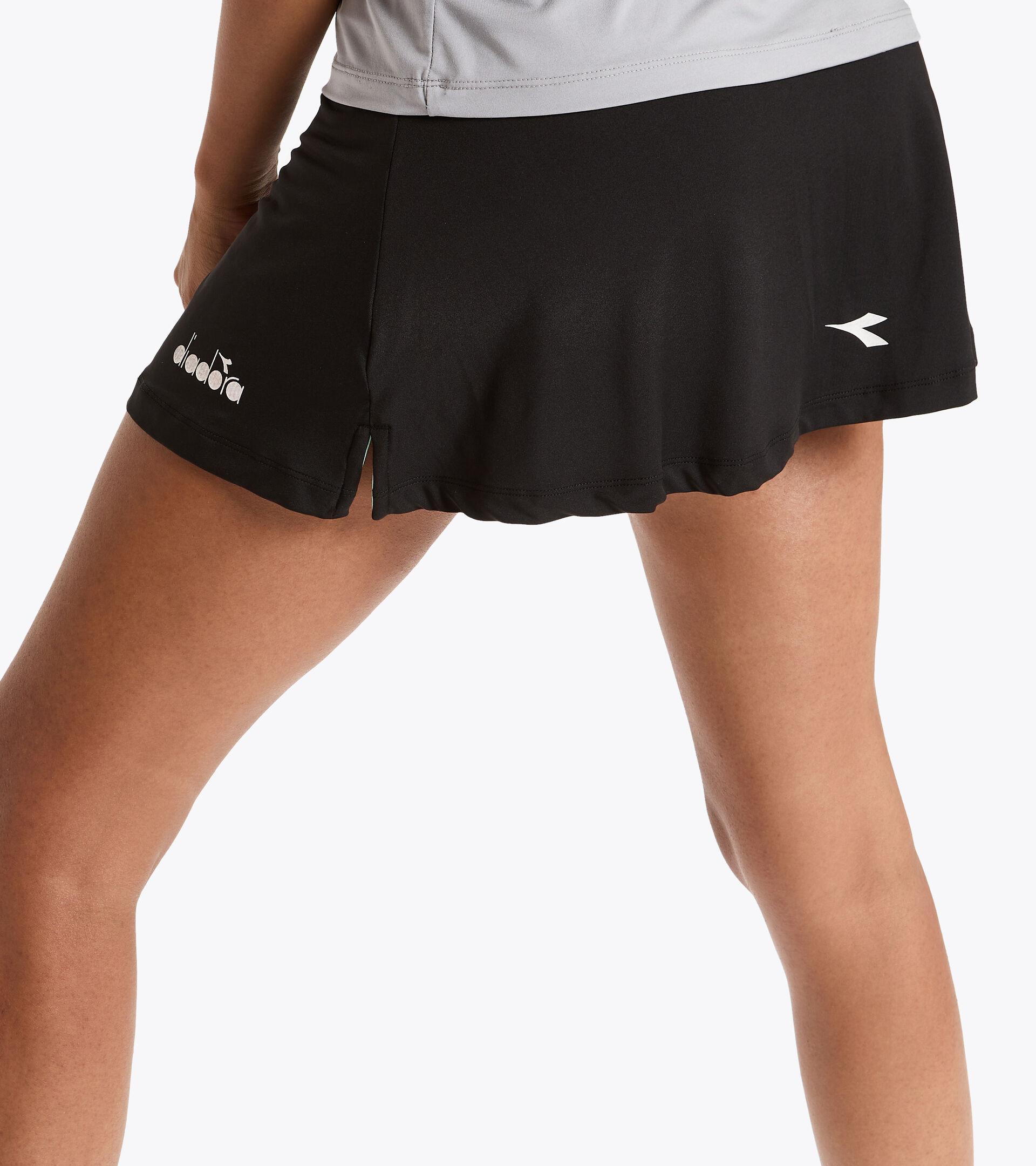 Apparel Sport DONNA L. SKIRT EASY TENNIS NEGRO Diadora