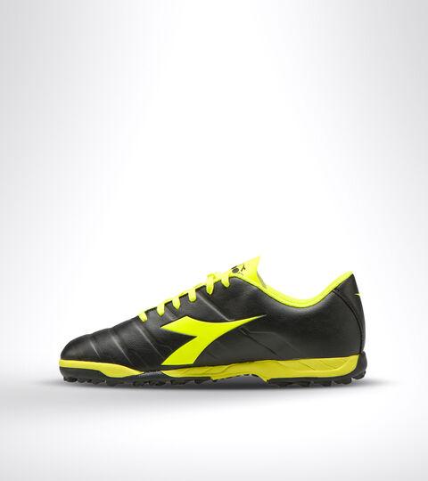 Footwear Sport UOMO PICHICHI 3 TF NEGRO/AMARILLO FLUO DD Diadora