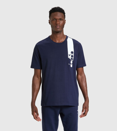 T-shirt - Unisex T-SHIRT SS ICON AZUL CHAQUETON - Diadora