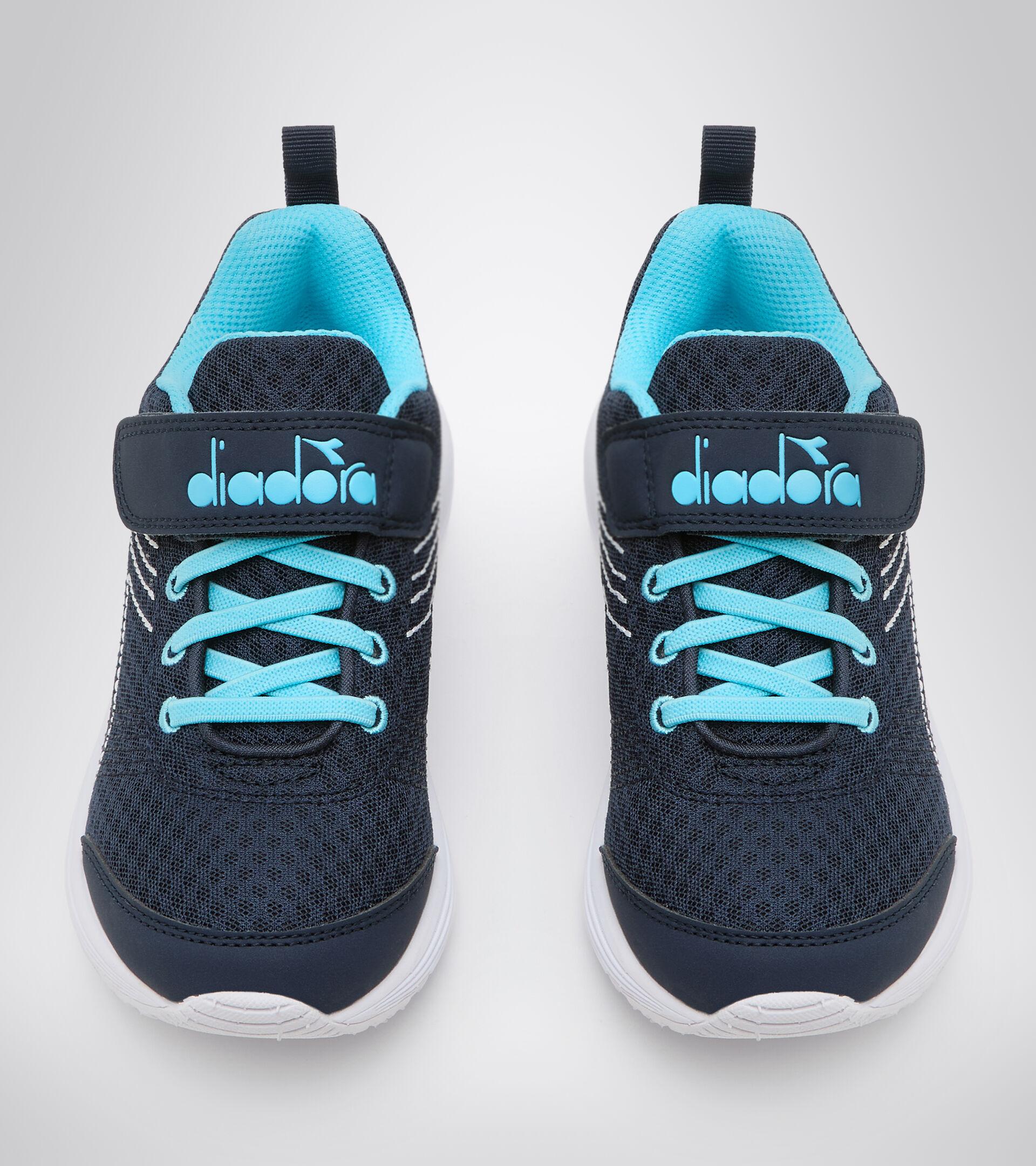 Footwear Sport BAMBINO FLAMINGO 6 JR LIRIO NEGRO/AZUL ATOLON Diadora