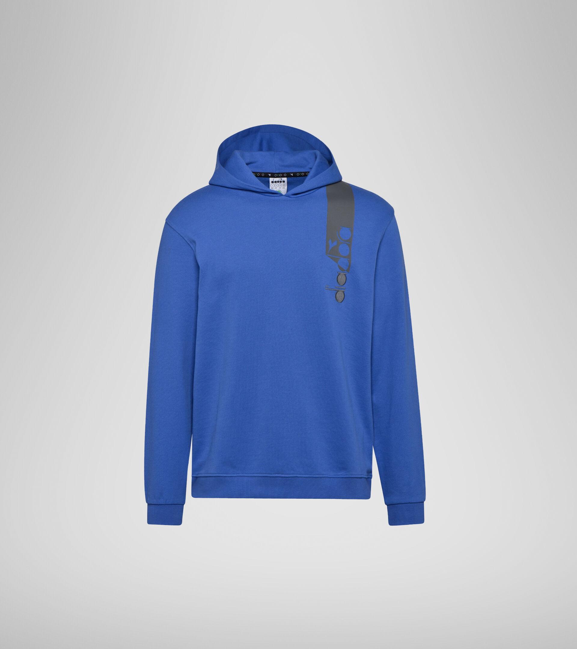 Apparel Sportswear UOMO HOODIE ICON BLUE PERSIA Diadora