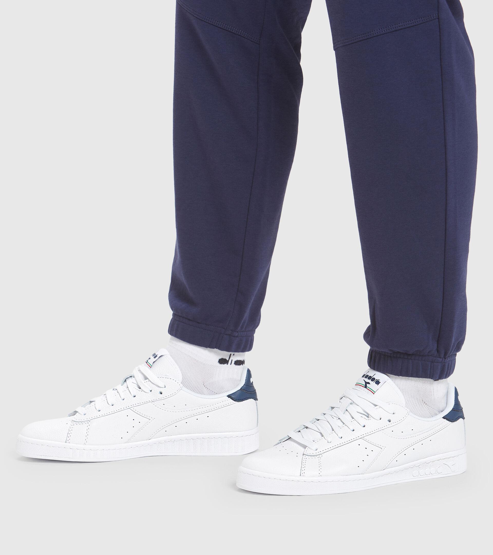 Footwear Sportswear UNISEX GAME L LOW OPTICAL WHITE/BLUE DARK DENIM Diadora