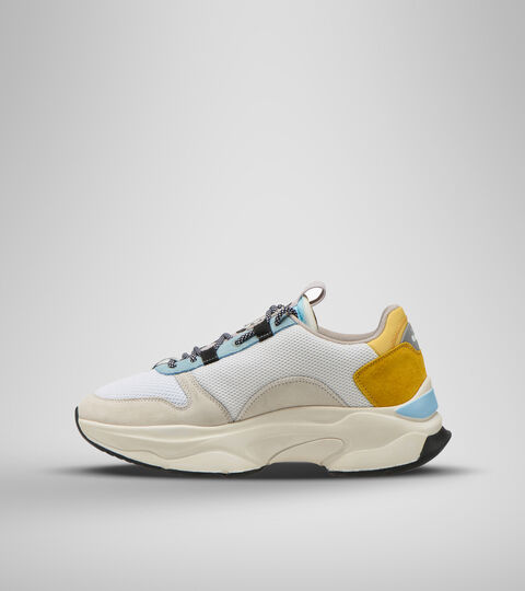 Footwear Sportswear UNISEX TERRENA NYLON BIANCO/GIALLO MET Diadora