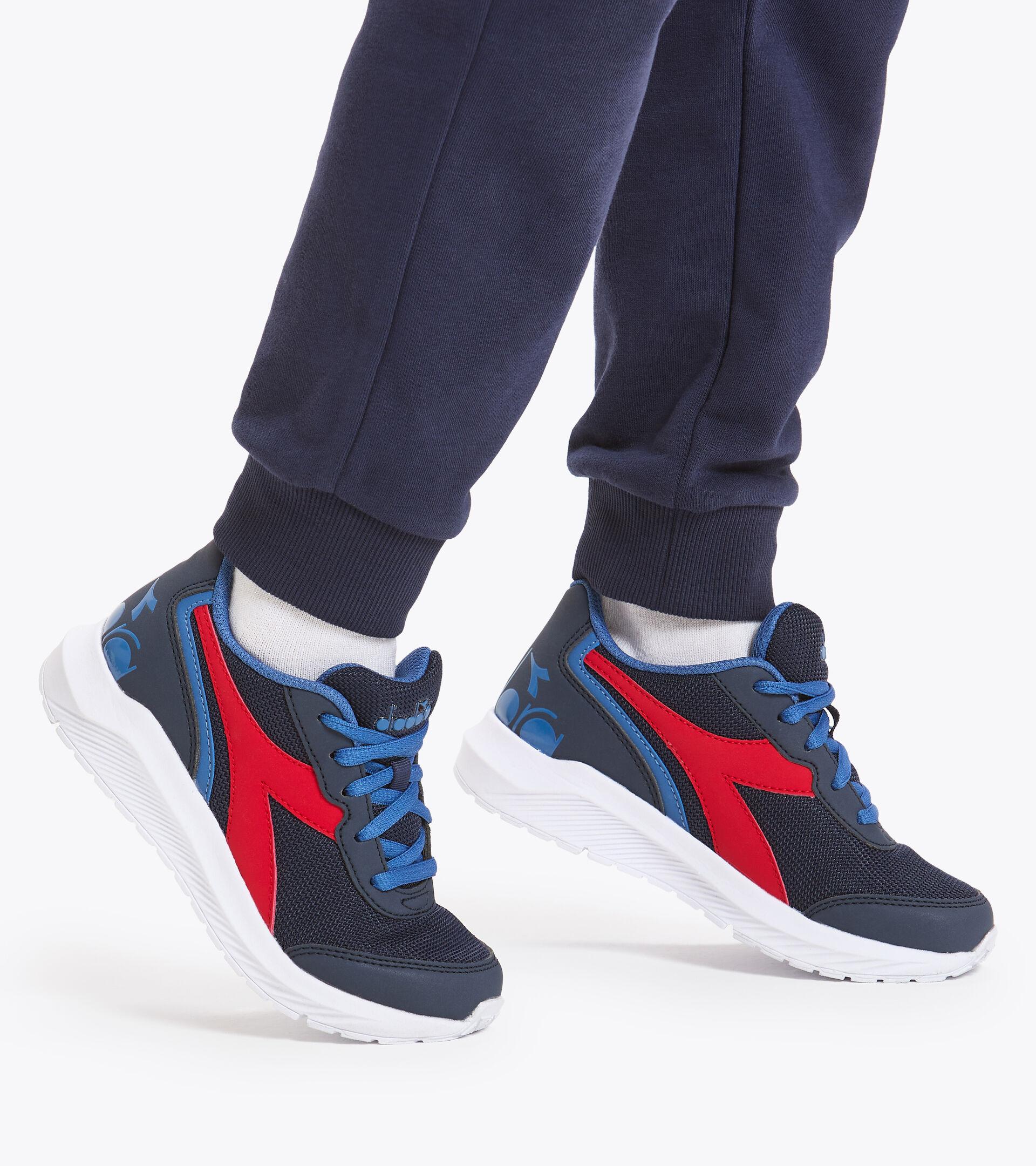 Footwear Sport BAMBINO FALCON JR BLUE CORSAIR/FEDERDAL BLUE Diadora