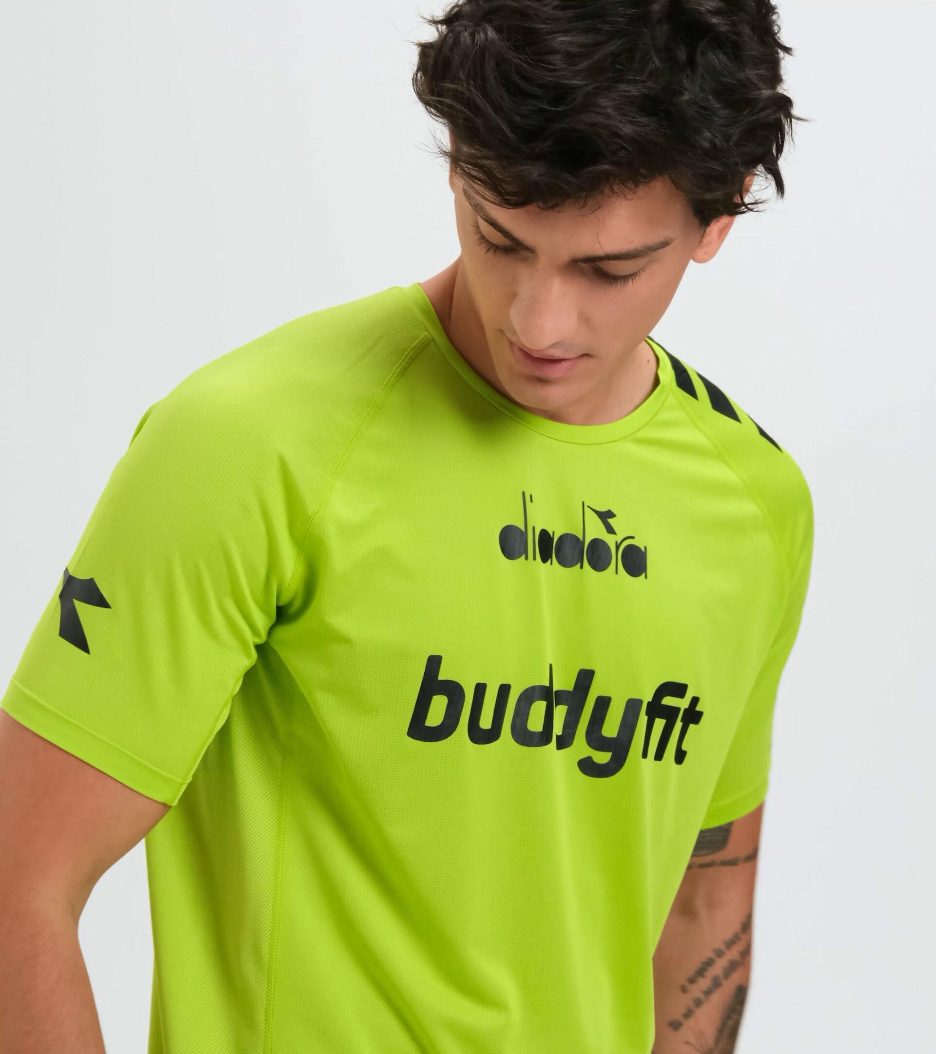 Apparel Sport UOMO SS SUPER LIGHT T-SHIRT BUDDYFIT LIME GREEN Diadora