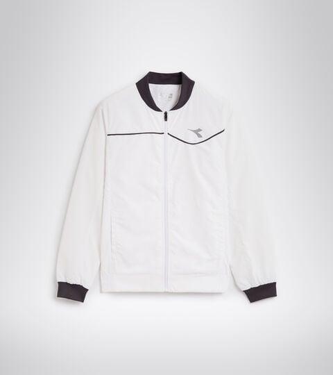 Tennis jacket - Men JACKET COURT OPTICAL WHITE - Diadora