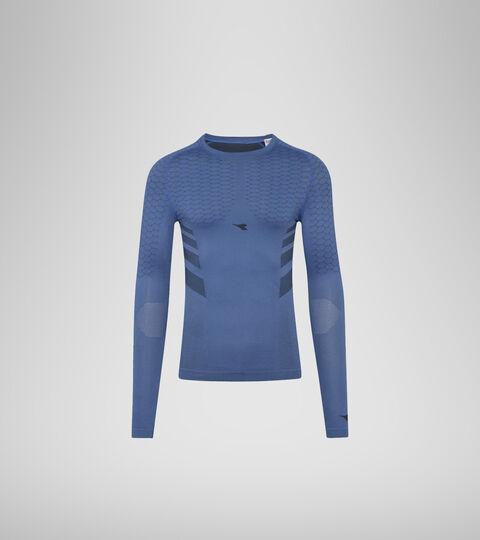 T-shirt d'entraînement à manches longues - Homme LS T-SHIRT ACT BLEU INFINI - Diadora