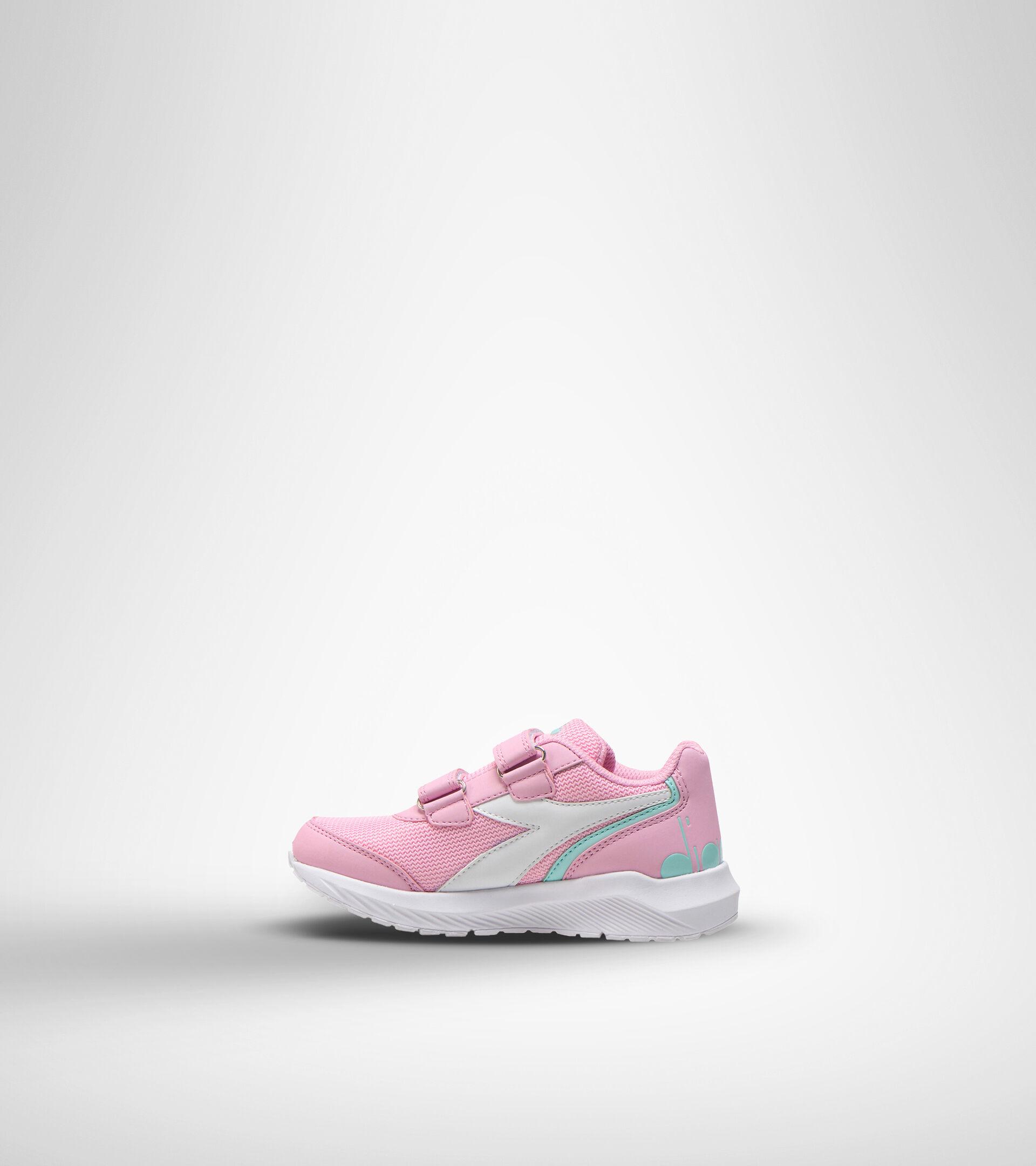 Footwear Sport BAMBINO FALCON JR V ROSA LADY/BIANCO Diadora