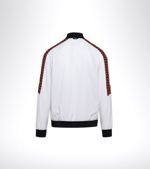 Tennis jacket - Men FZ JACKET CHALLENGE OPTICAL WHITE - Diadora