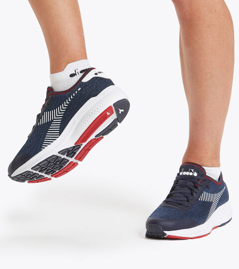Sports shoes - Men PASSO BL CORSAIR/FEDERAL BLUE/WHT - Diadora
