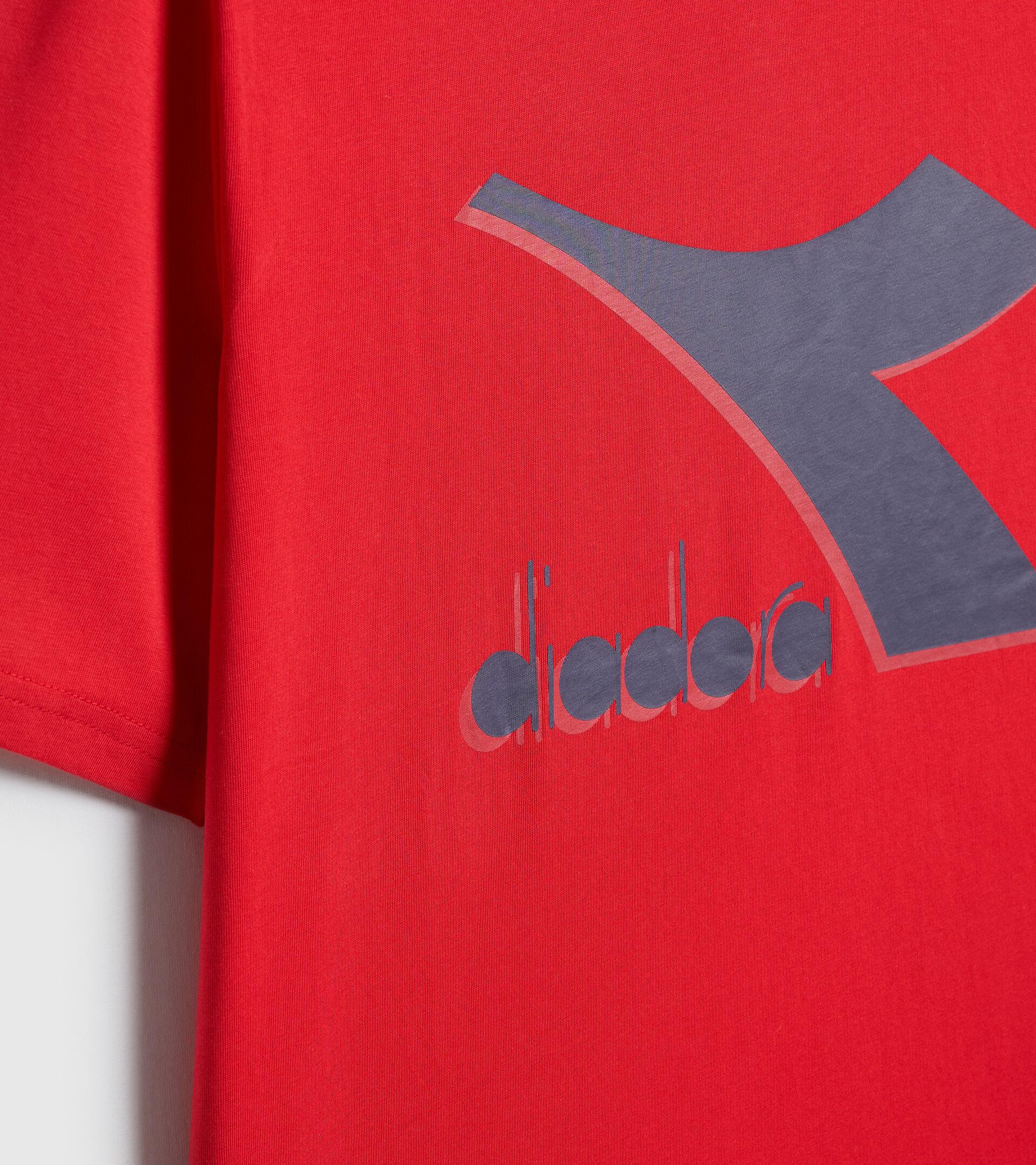 T-shirt - Men T-SHIRT SS SHIELD TANGO RED - Diadora