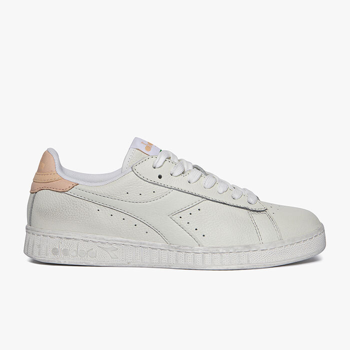 GAME L LOW WAXED, WHITE/PALE PEACH, large