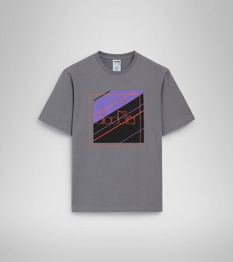 T-shirt - Men T-SHIRT SS 5PALLLE URBANITY STEEL GRAY - Diadora