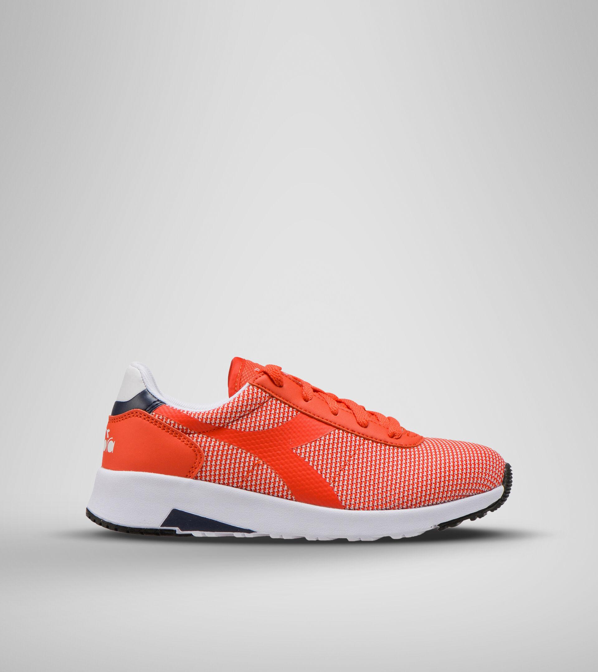 Chaussures de sport - Jeunes 8-16 ans EVO RUN GS ROUGE FIESTA/NOIR IRIS - Diadora