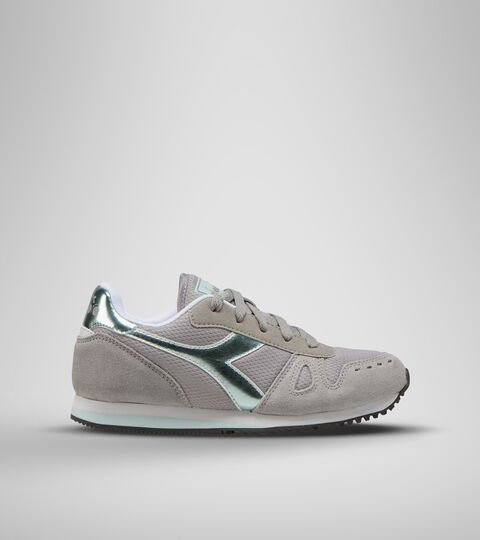 Sports shoes - Youth 8-16 years SIMPLE RUN GS GIRL PALOMA GREY - Diadora