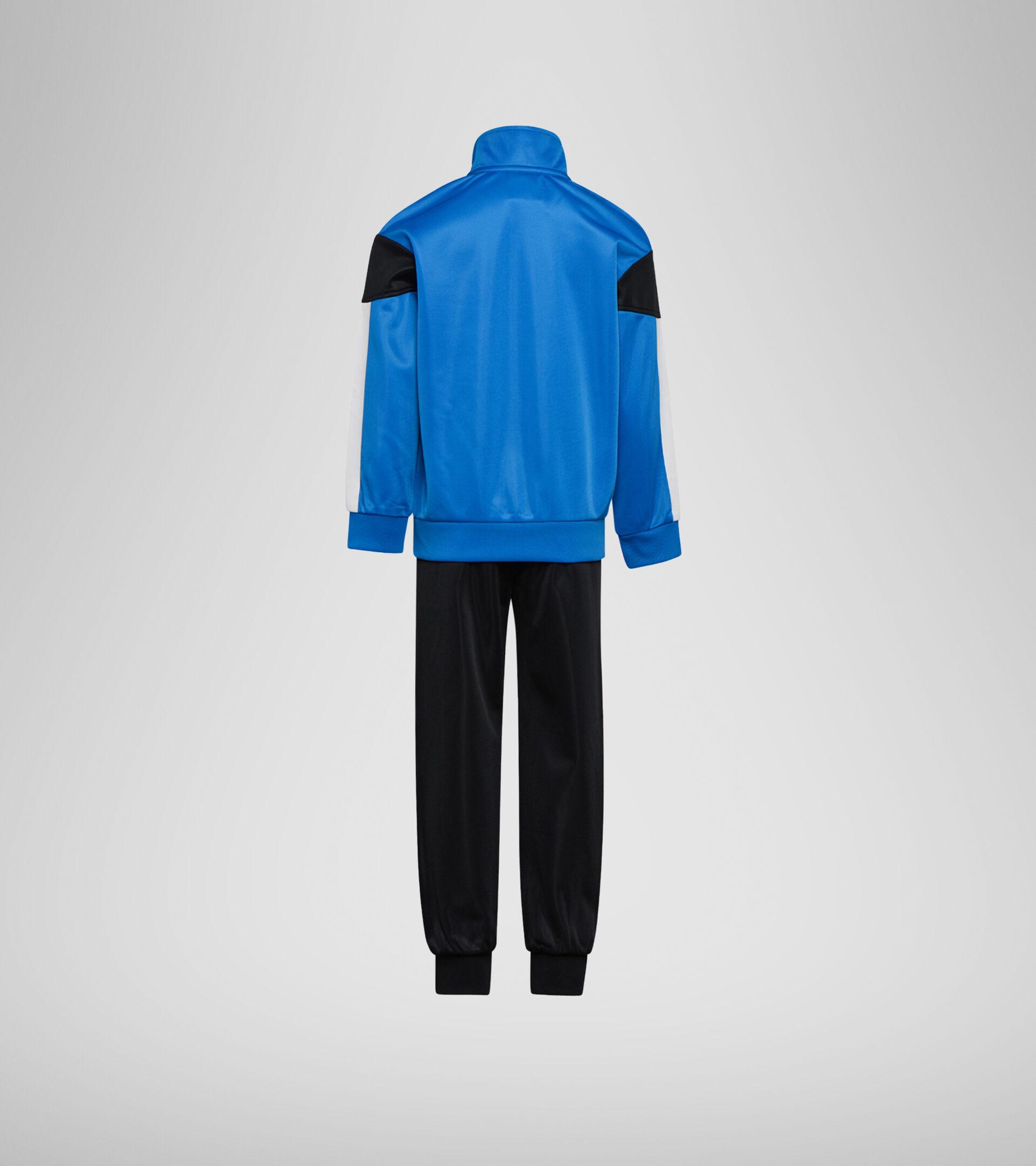 Apparel Sport BAMBINO JB. TRACKSUIT FZ DIADORA CLUB MICRO BLUE Diadora