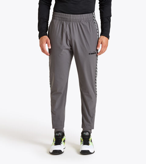 Tennis trousers - Men PANTS CHALLENGE GREY QUIET SHADE - Diadora