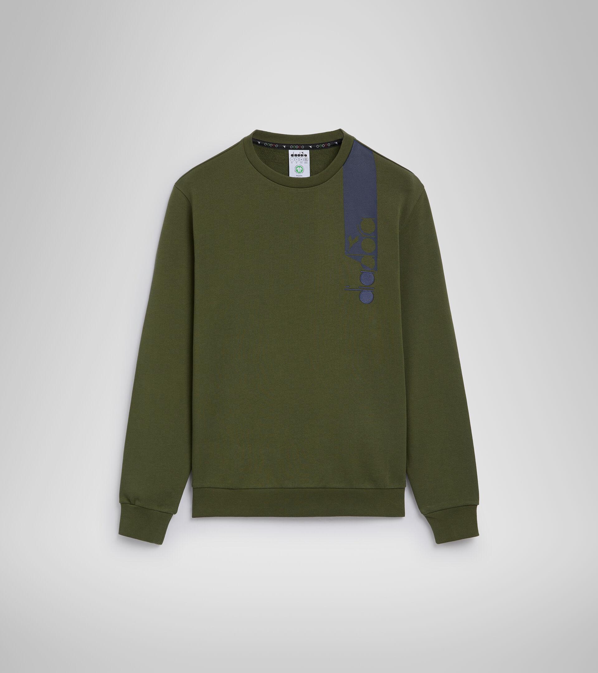 Sweater mit Rundhalsausschnitt - Unisex SWEATSHIRT CREW ICON ZYPRESSE - Diadora