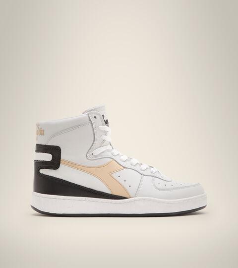 Heritage-Sneaker - Unisex  MI BASKET USED WEISS/MILCHKAFFEE BEIGE - Diadora