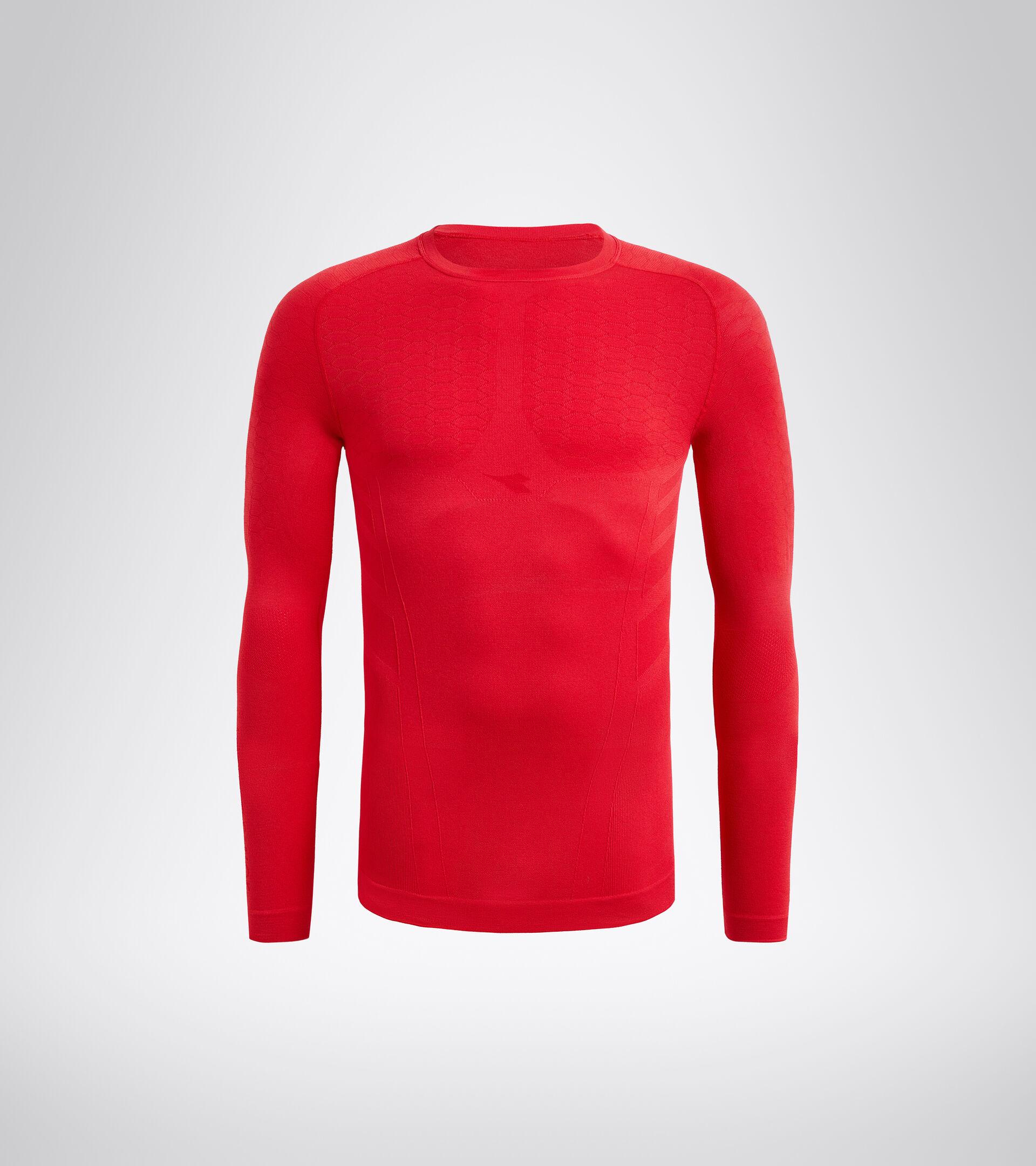 Long-sleeved training t-shirt - Men LS T-SHIRT ACT LYCHEE - Diadora