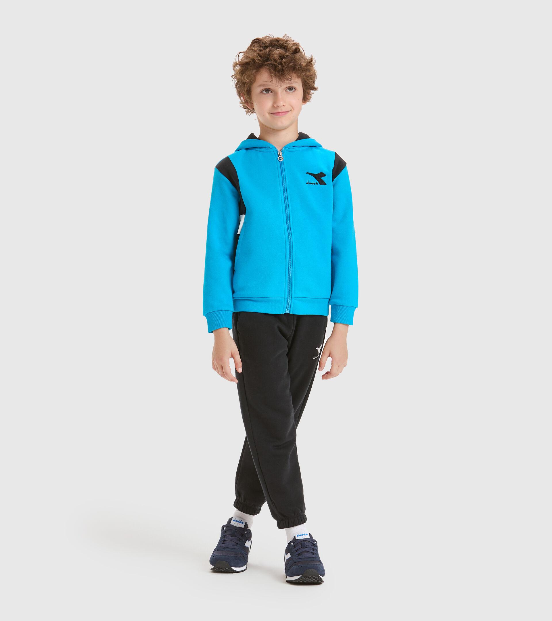 Trainingsanzug - Kinder JB.TRACKSUIT HD FZ HOOPLA DONAU BLAU - Diadora
