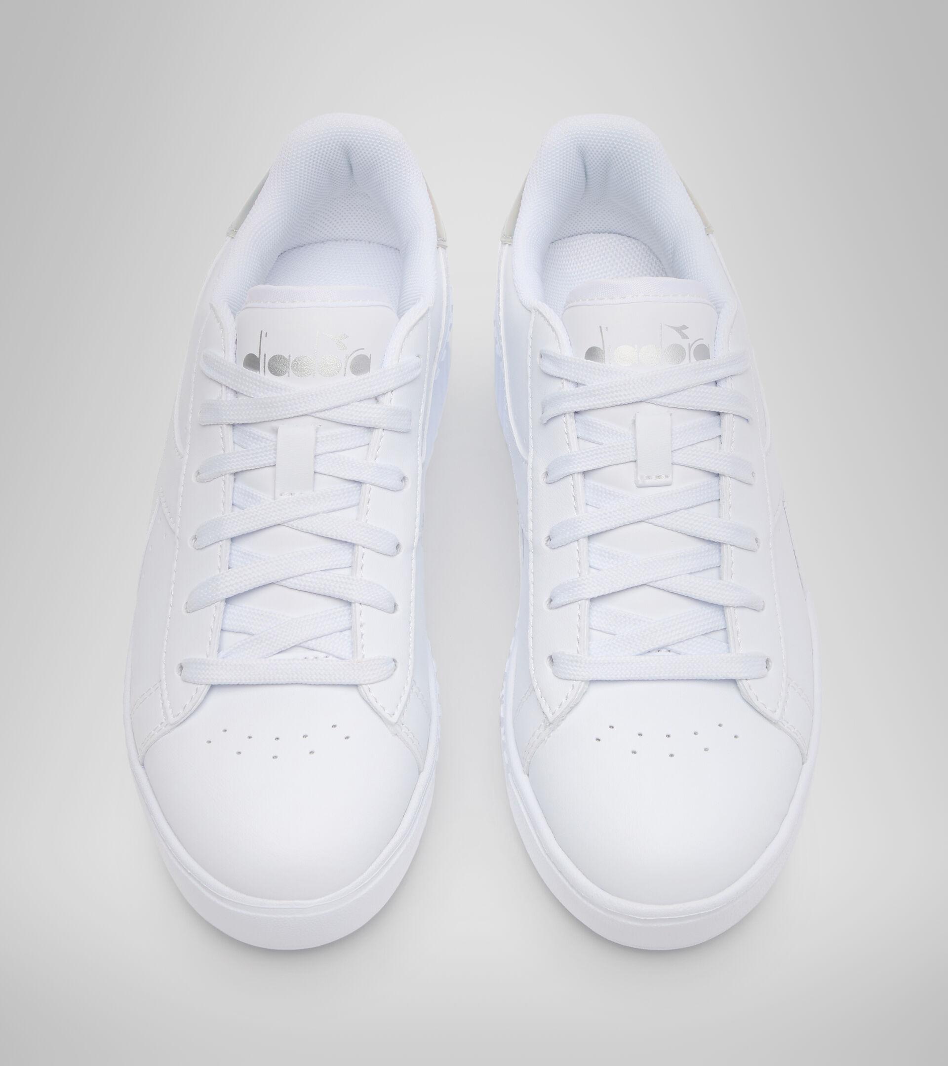 Chaussures de sport - Jeunes 8-16 ans GAME STEP GS WEISS/ARGENT - Diadora