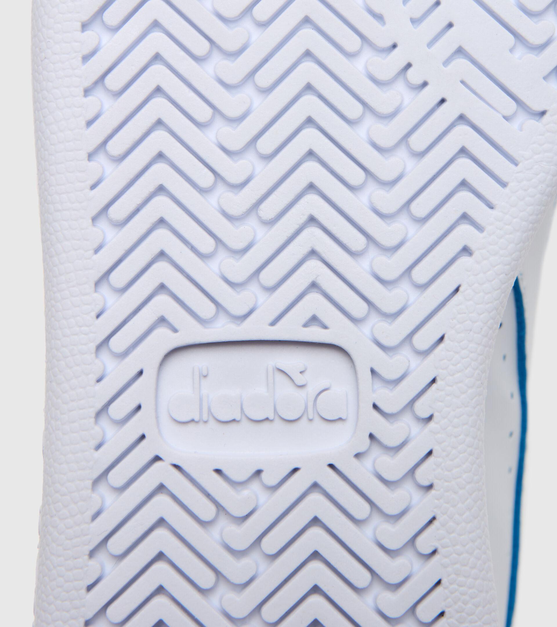 Sports shoes - Kids 4-8 years GAME P SMASH PS WHITE/BLUE EYES - Diadora