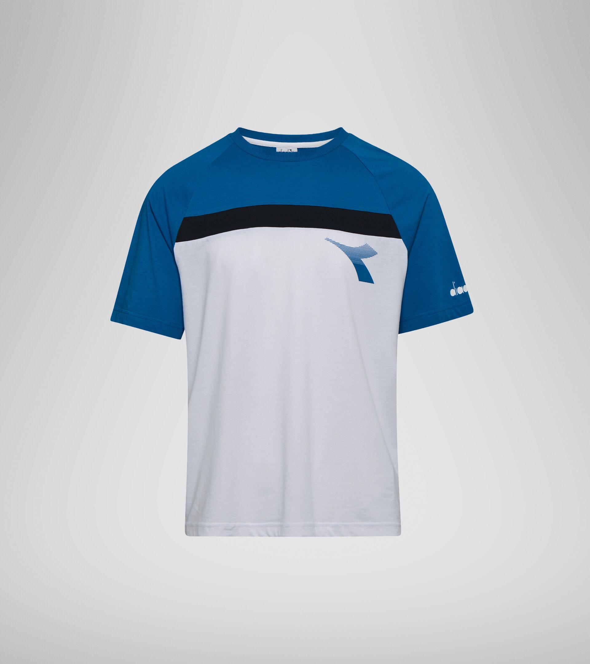 T-shirt - Men T-SHIRT SS DIADORA CLUB OPTICAL WHITE - Diadora