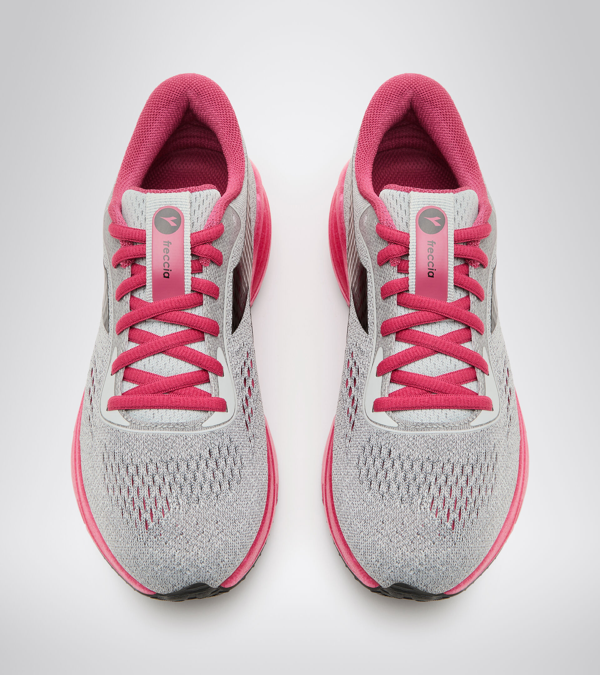 Running shoes - Women FRECCIA W SILVER DD/JAZZY/BLACK - Diadora