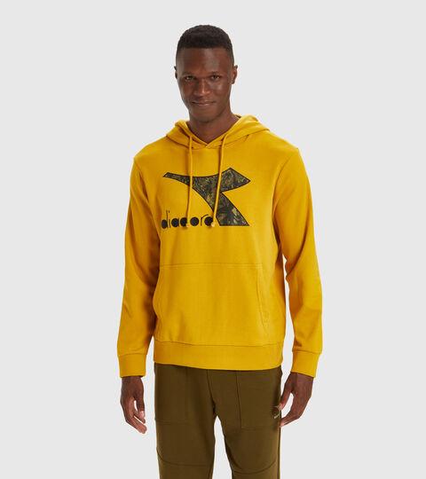 Hooded sweatshirt - Men HOODIE BIG LOGO TAWNY OLIVE - Diadora