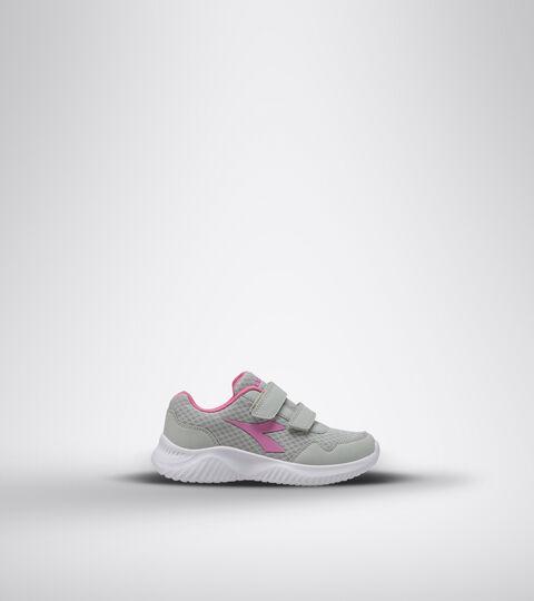 Running shoe - Kids ROBIN 2 JR V SILVER/WILD ORCHID - Diadora