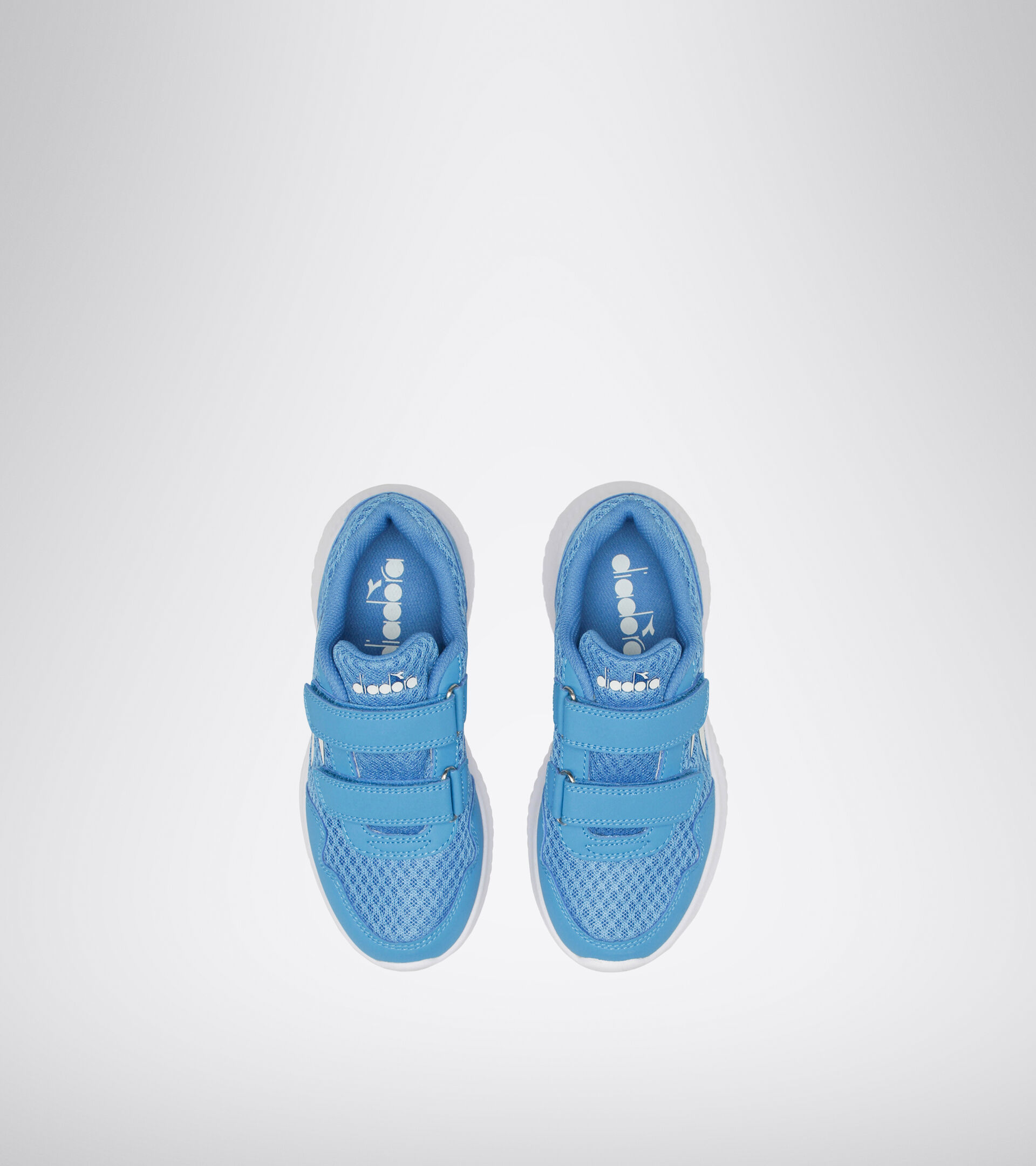 Footwear Sport BAMBINO ROBIN 2 JR V BLU MICRO/BIANCO Diadora