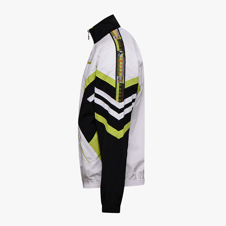 TRACK JACKET OFFSIDE '95, OPTICAL WHITE/BLACK, large