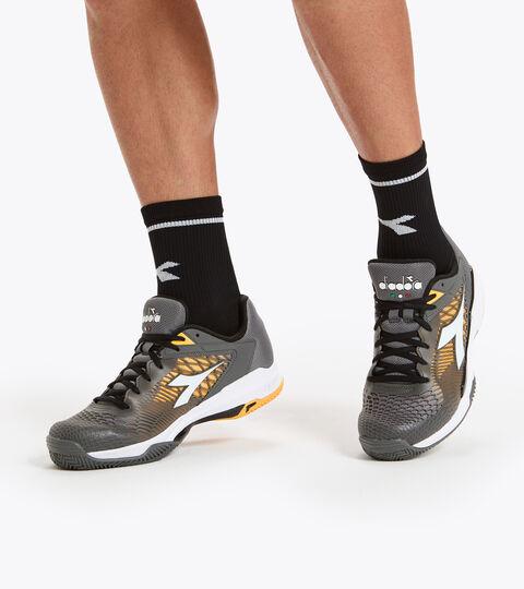 Footwear Sport UOMO SPEED COMPETITION 6 + CLAY QUIET SHADE/WHITE/SAFFRON Diadora