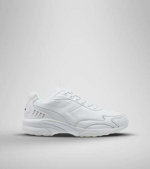 Footwear Sportswear UNISEX DISTANCE 280 LEATHER WHITE/WHITE/WHITE Diadora