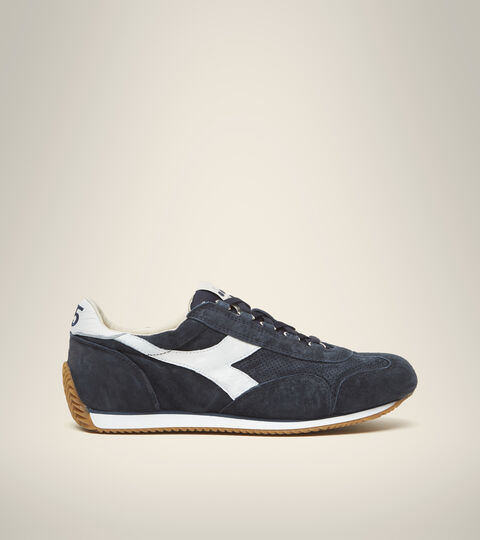 Footwear Heritage UNISEX EQUIPE SUEDE SW BLU DENIM/BIANCO Diadora