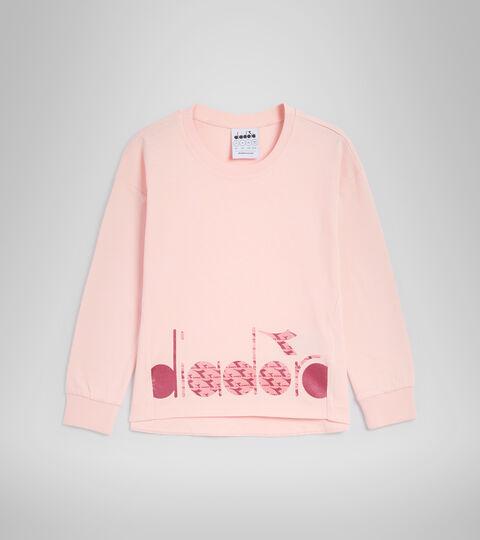 T-shirt à manches longues - Garçon JG.T-SHIRT LS TWINKLE ROSE VOILEE - Diadora