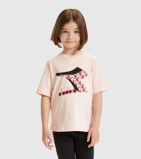 T-shirt - Kids JU.SS T-SHIRT  CUBIC VEILED PINK - Diadora
