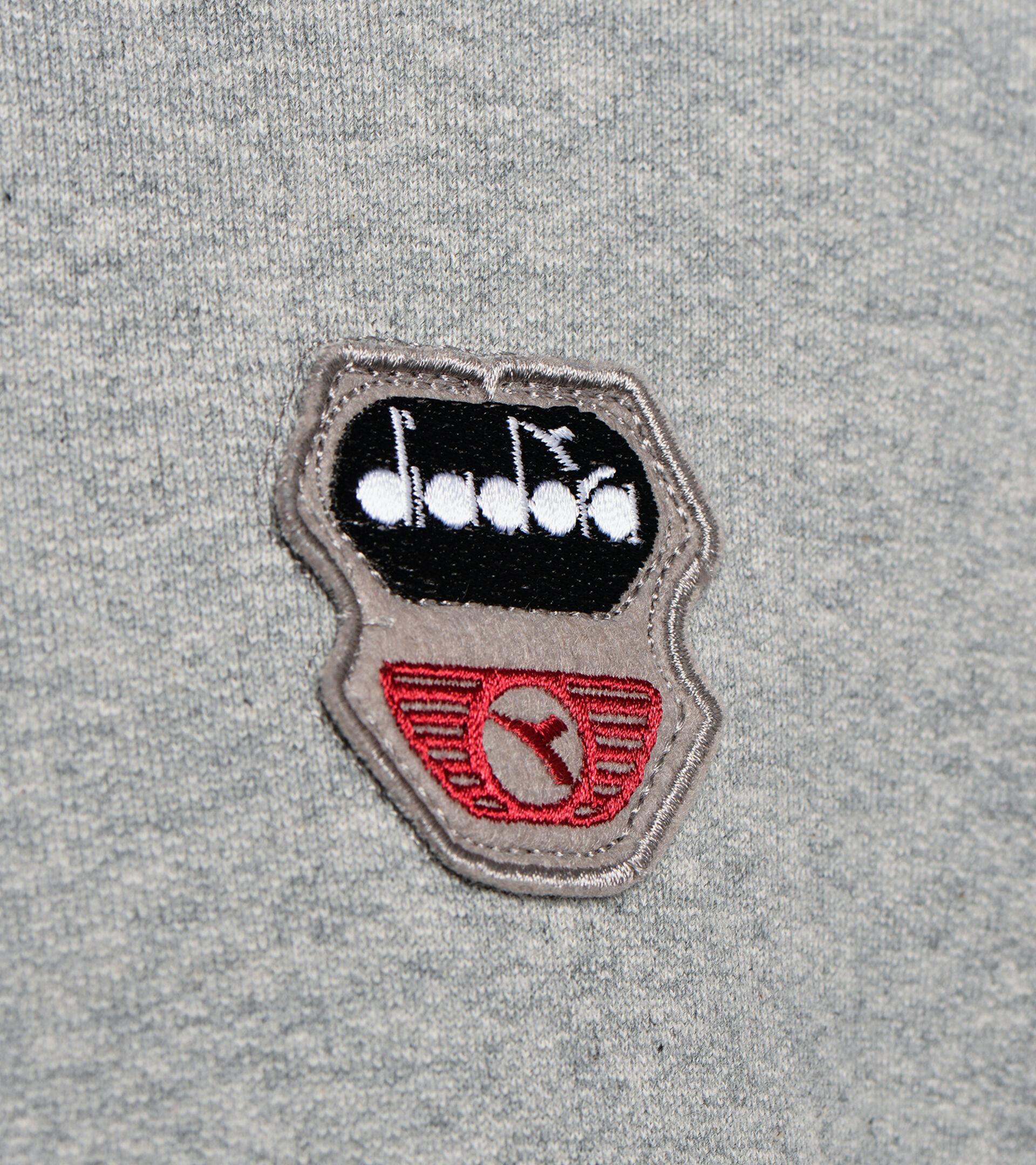 Sweater mit Rundhalsausschnitt - Unisex SWEATSHIRT CREW ATLETICO LICHT MITTELGRAU MELANGE - Diadora
