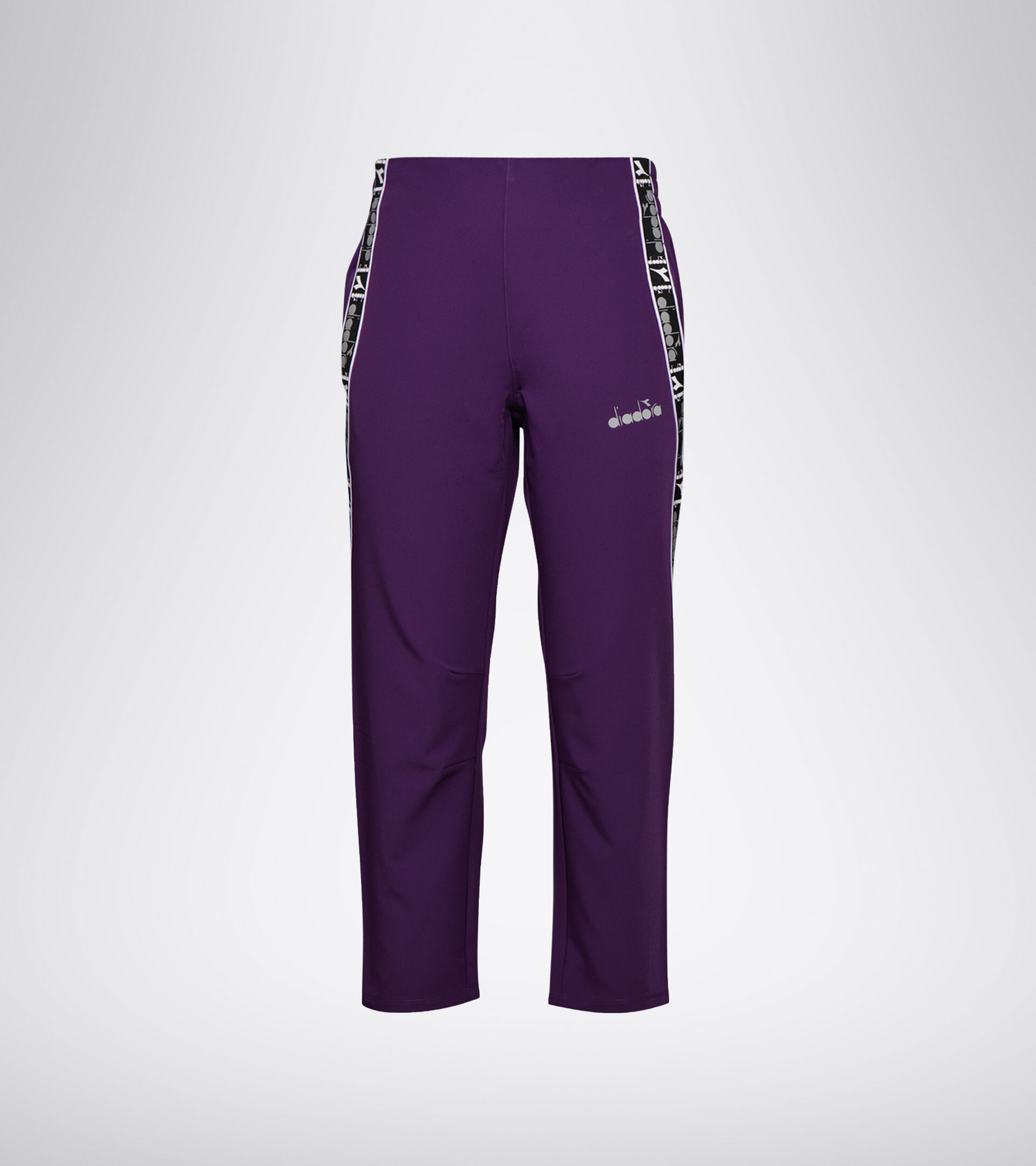 Running trousers - Women L. 7/8 RUNNING PANTS BE ONE MAJESTIC VIOLET - Diadora